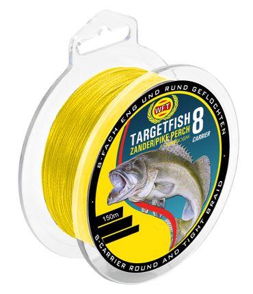 WFT TF8 Zander yellow 150m - Angelschnur