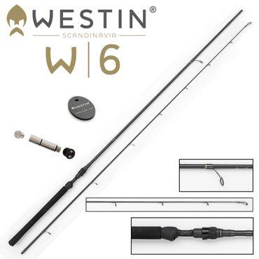Westin W6 Dropshot M 240cm 5-28g - Drop Shot Rute