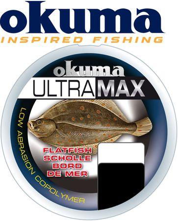 Okuma Ultramax Plattfisch 0,35mm 9,8kg 500m Orange - Angelschnur