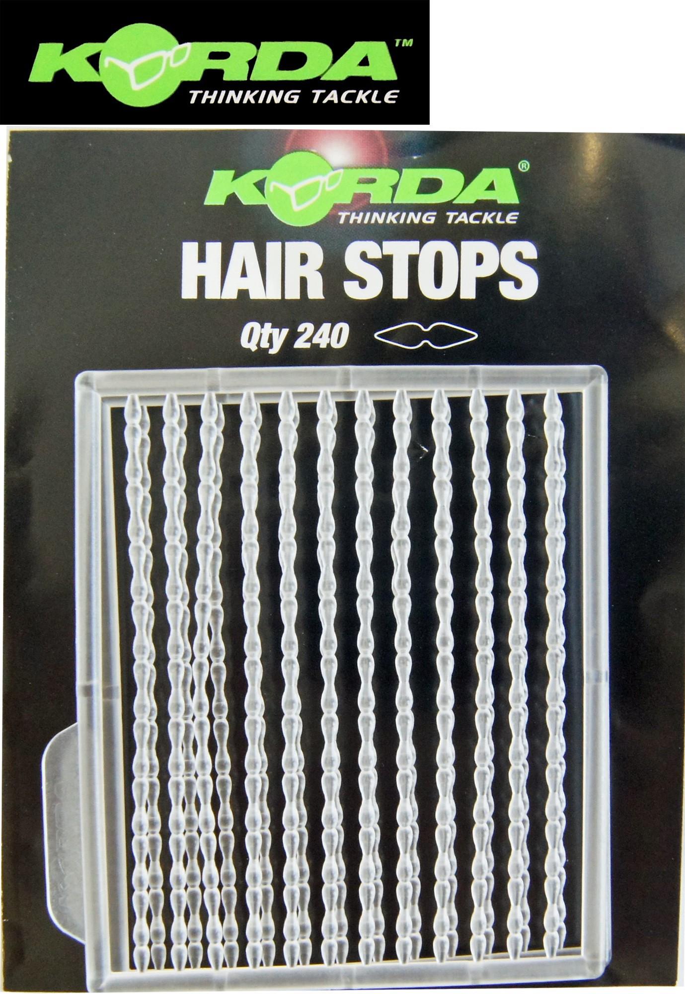 Boilie Stopper für Haar Montagen Karpfen Hair Stops von Carp System 2 Karten