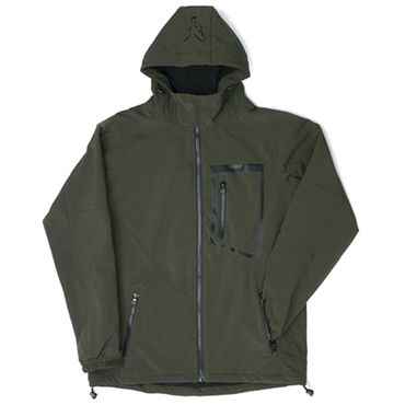 Fox Green Black Softshell Jacket - Angeljacke