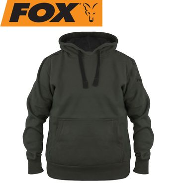 Fox Green Black Hoodie - Angelpullover