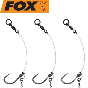 Fox Edge Armapoint stiff rig beaked Chod rigs Barbless