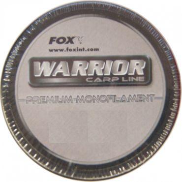 Fox Warrior Karpfenschnur 0,38mm 849m Schnur grau