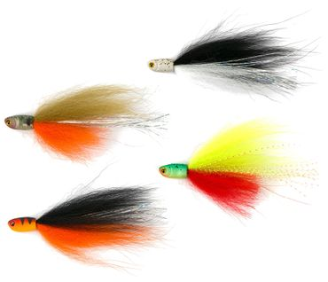 Fox Rage Dropshot Fly 8cm - 2 Angelfliegen
