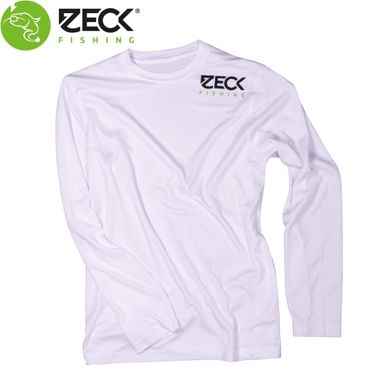 Zeck Longsleeve UV-Cool White - Angelshirt