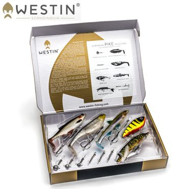Westin Gift Box Pike Selection - Angelbox  Hechtköder Set
