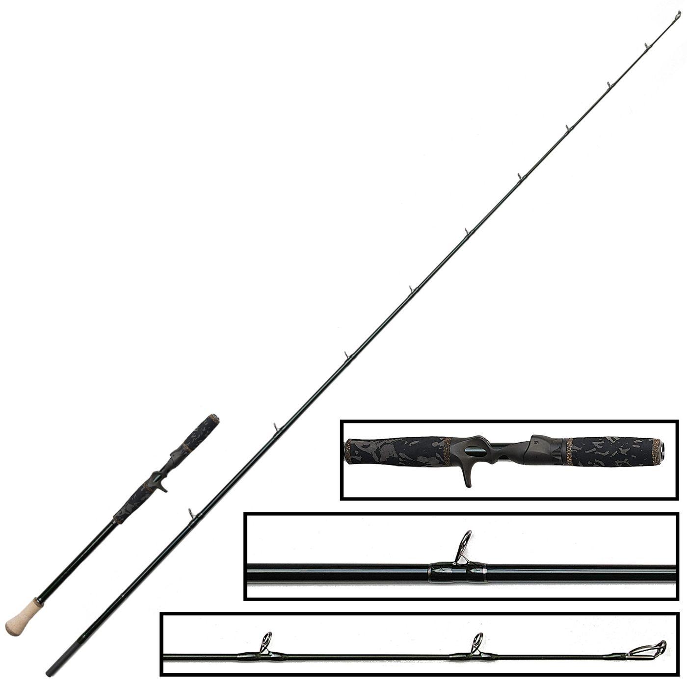 1DFR 7ft11in Trigger 238cm />170g 2 Teile Savage Gear Baitcastrute