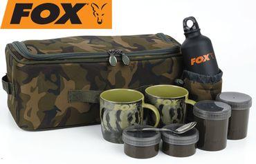 Fox Camolite Brew Kit Bag - Campingset zum Tee & Kaffee kochen
