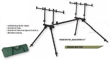Pelzer Phaser Rod Pod Rodpod Edition 3+5 black