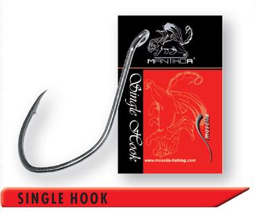 4 Mantikor Wallerhaken Single Hook Gr. 4/0