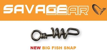 Savage Gear Big Fish Safe Snap Wirbel