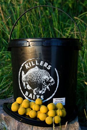 Carp Killers Old Potato Boilies 3,5 kg Eimer