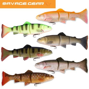 Savage Gear 3D Line Thru Trout Gummifisch