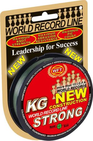 WFT KG STRONG Schnur 150m 0,25mm 39kg