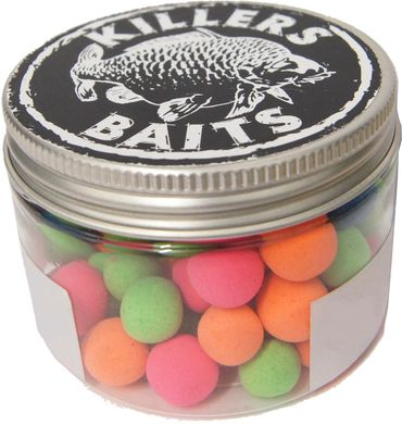 Carp Killers Fluo Pop Up Boilies 10&12mm
