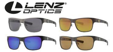 Lenz Optics Sela Titan / Carbon Sunglass - Polbrille
