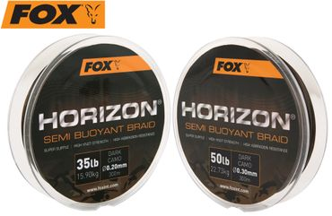 Fox Horizon Dark Camo Semi Bouyant Braid 300m geflochtene Schnur
