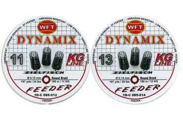 WFT Round Dynamix Feeder blood red 180m