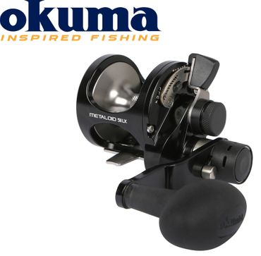 Okuma Metaloid M-5IILX 4bb 2 Speed Left Hand Multirolle Linkshand
