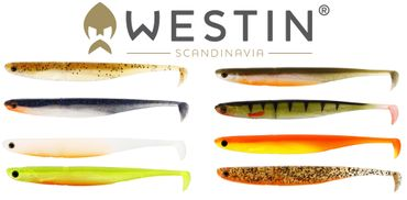 Westin Kick Teez ST 15cm - 4 Gummifische