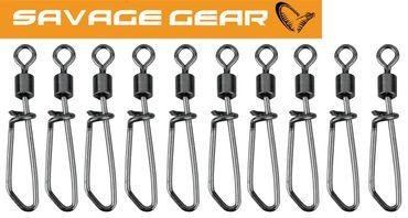 Savage Gear Spin Swivels - 10 Wirbel