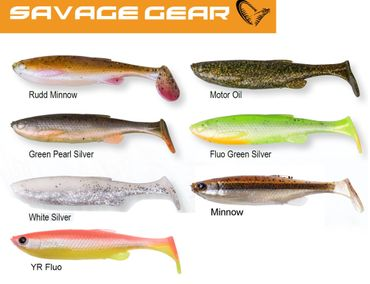 Savage Gear 3D Fat Minnow T-Tail Gummifische (7,5cm, 9cm, 10,5cm o. 13cm)