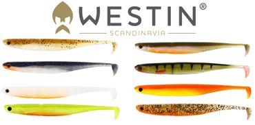 Westin KickTeez ST 9 cm - 6 Gummifische