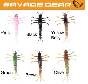 Savage Gear 3D TPE Mayfly Nymph 5cm 2,5g - Maifliege