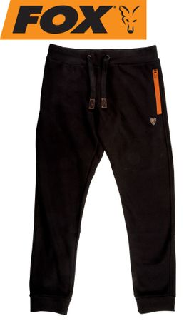 Fox Black / Orange Joggers Angelhose
