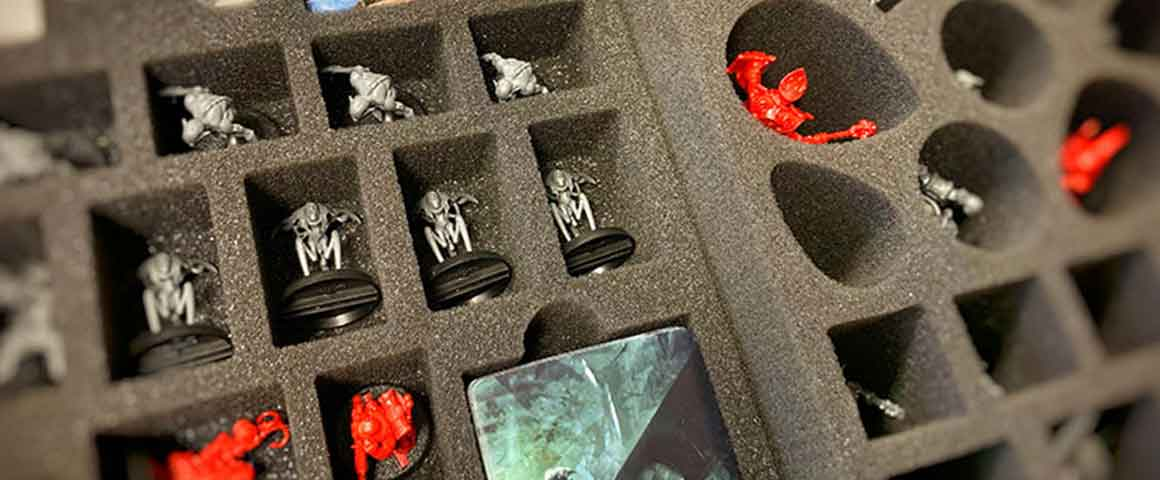Feldherr foam tray set for Warhammer Quest: Blackstone Fortress board game box