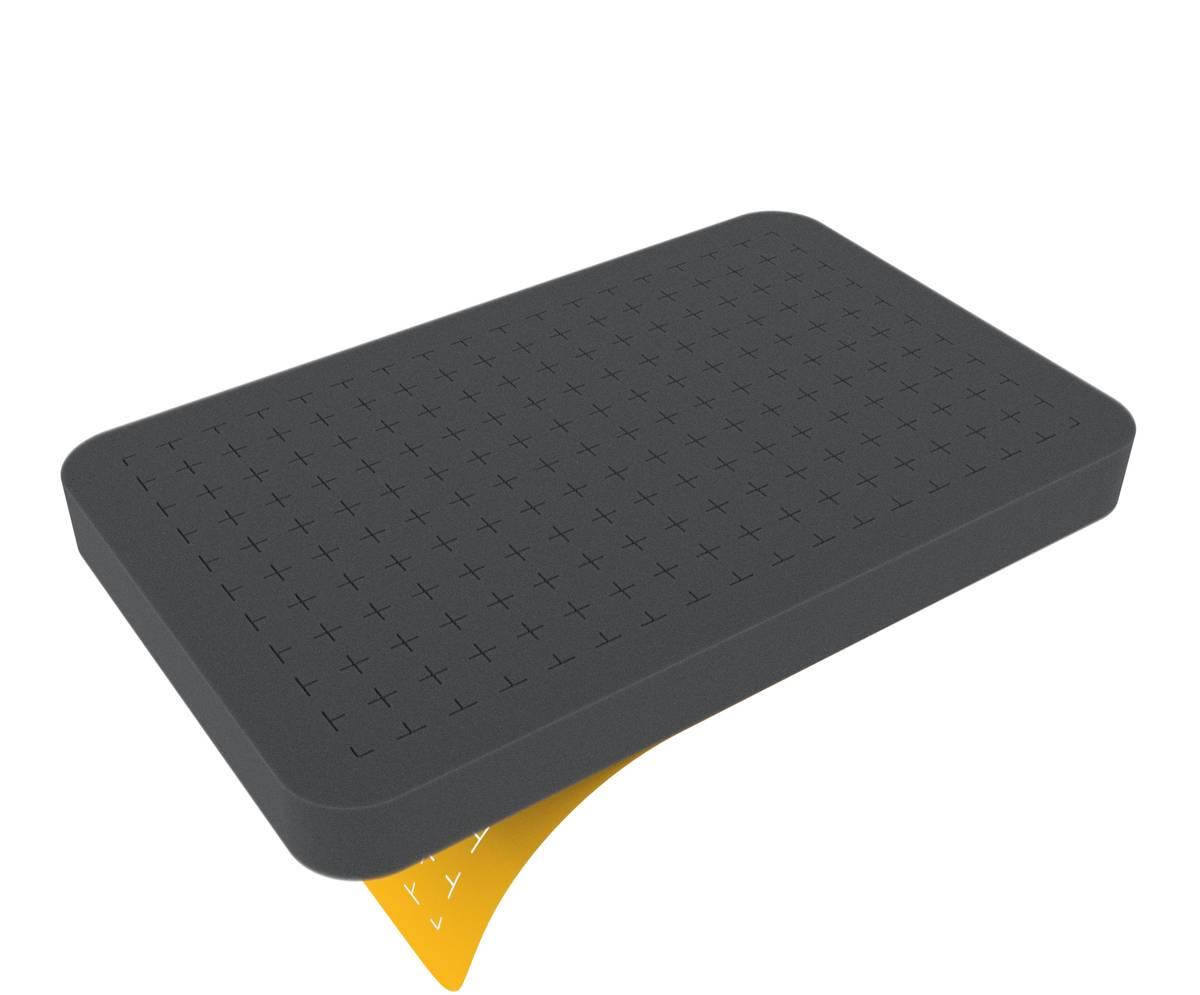 HS025RS 25 mm Figure Foam Tray half-size Raster self-adhesive