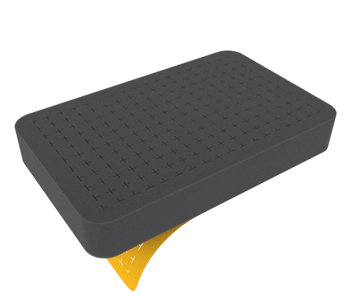 HS040RS 40 mm Figure Foam Tray half-size Raster self-adhesive