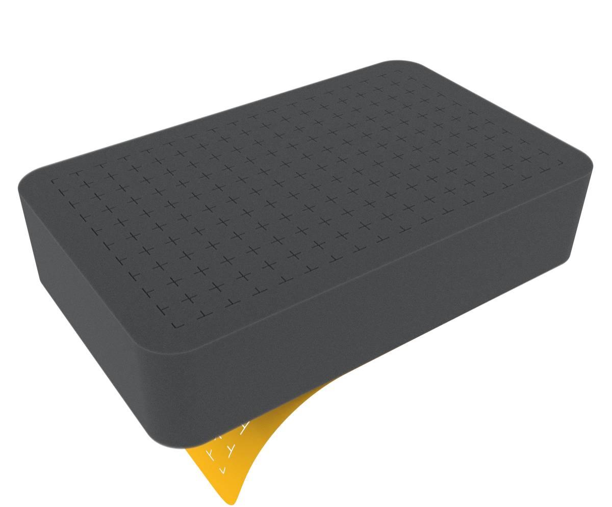 HS060RS Half-Size Raster-Schaumstoffeinlage 60 mm selbstklebend