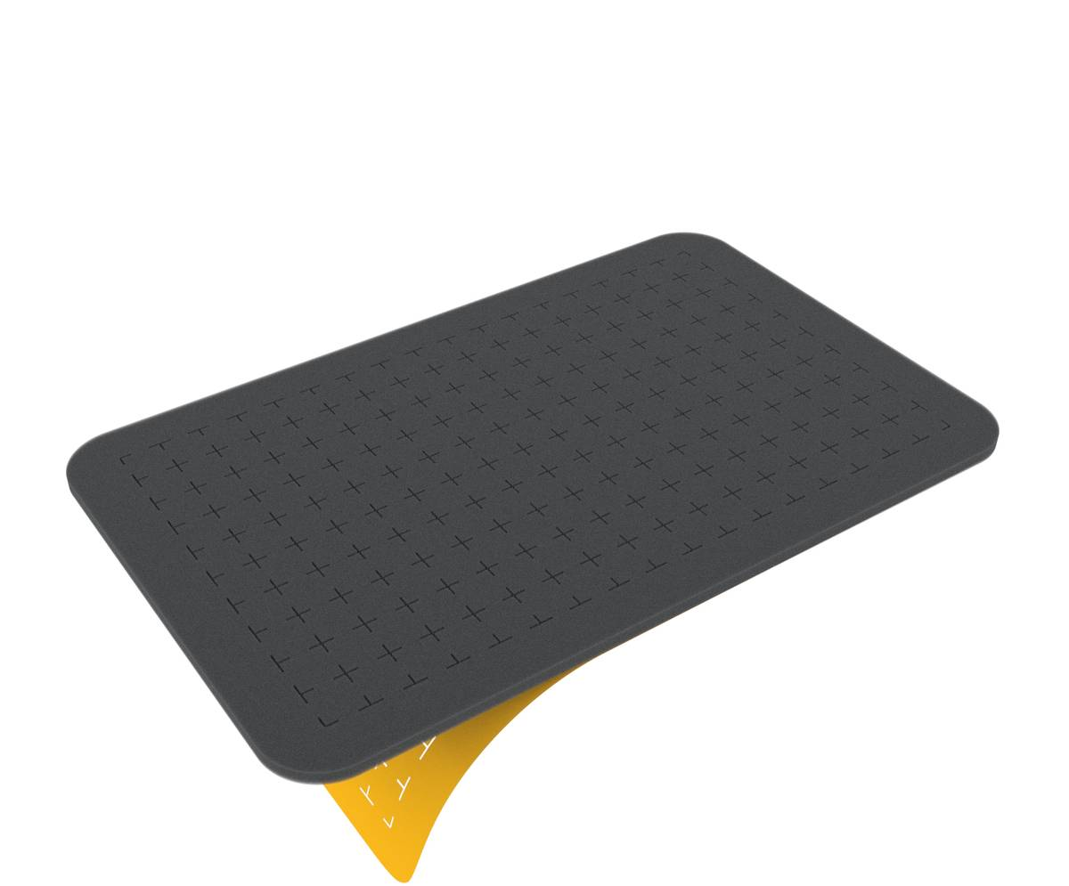 HS005RS half-size Raster-Schaumstoff 5 mm selbstklebend