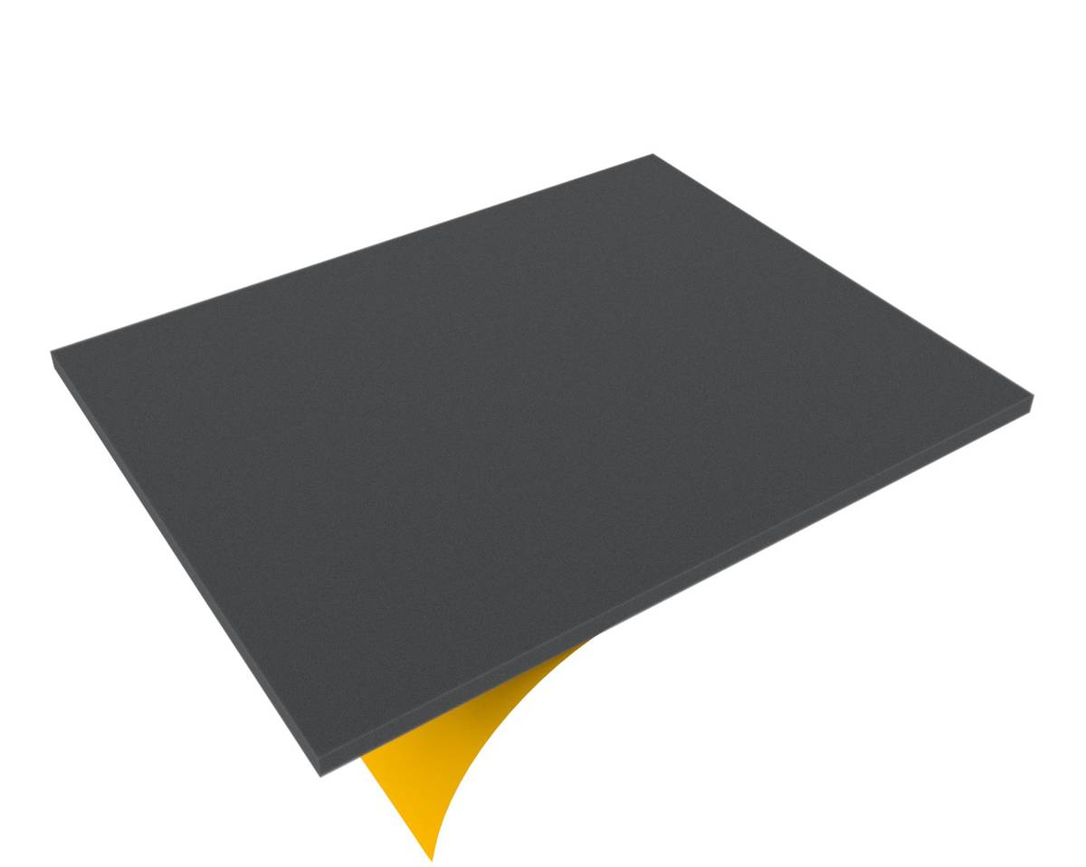 FS010BS 10 mm Figure Foam Tray full-size Bottom / Topper self-adhesive