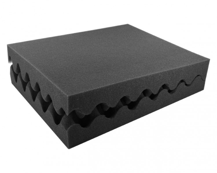 FSNP050Set 2pcs. 50 mm (2 inches) Convoluted foam - full-size