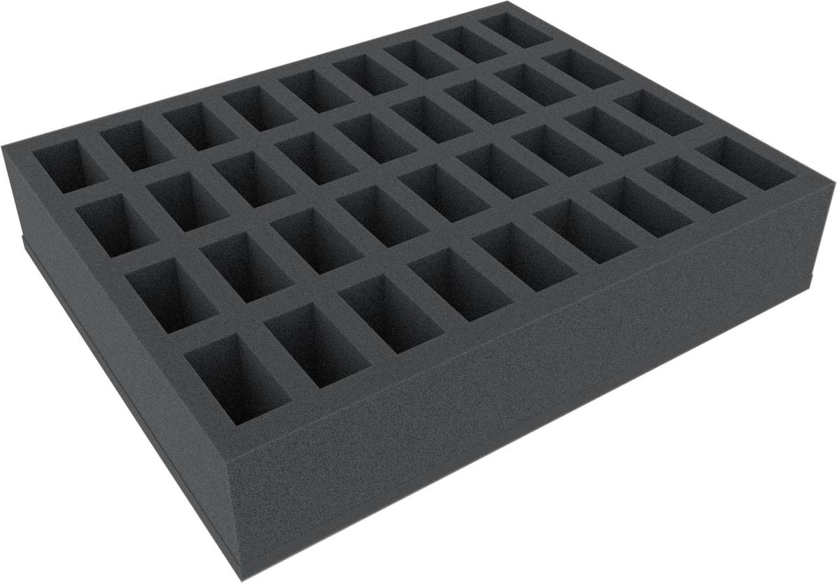 FS070BO 70 mm (2.8 Inch) Figure Foam Tray with base - full-size