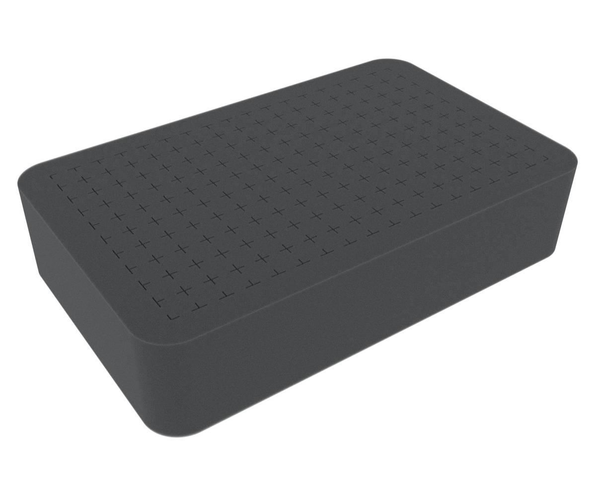 HS060R half-size Raster Foam Tray 60 mm (2.4 inches)