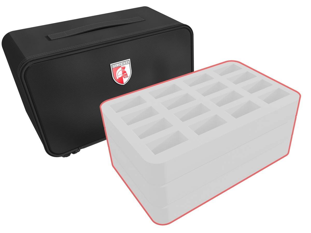 Feldherr MINI PLUS custom bag - 150 mm Half-Size foam trays of your choice