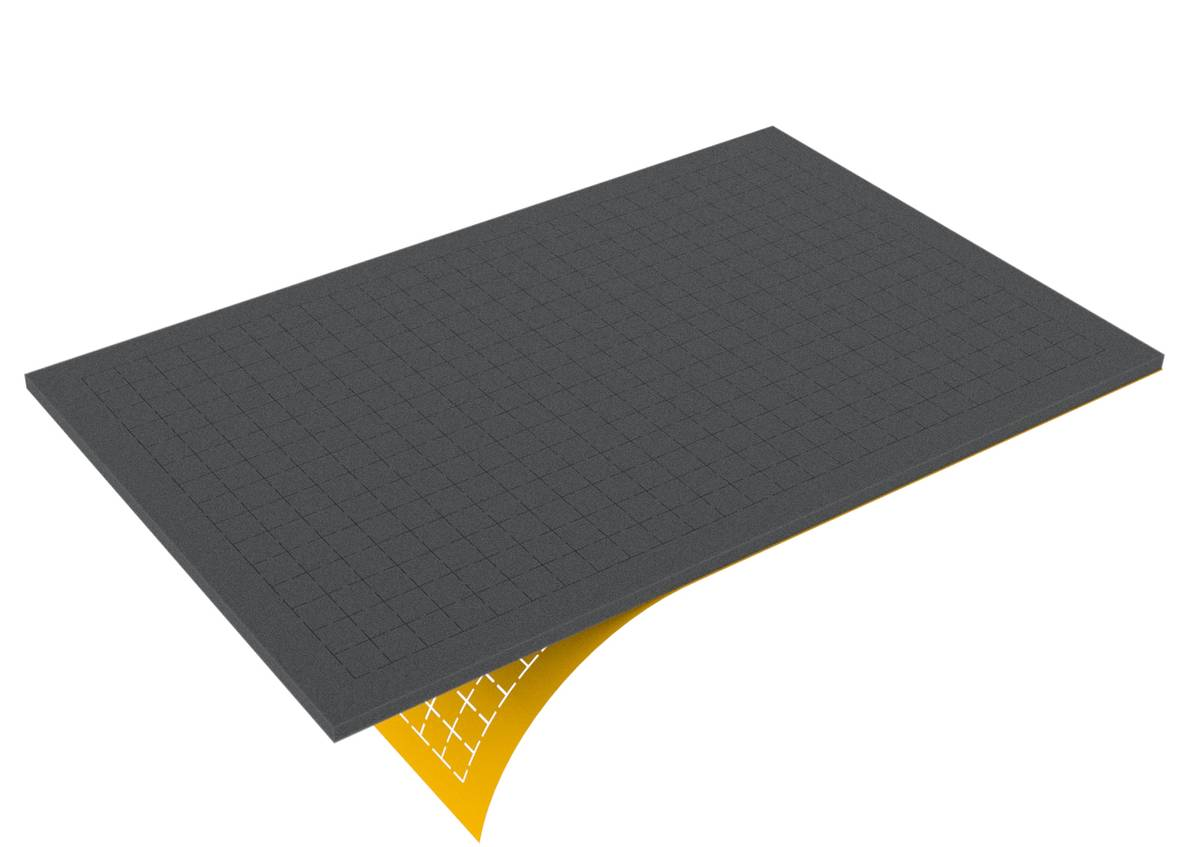 DS010RS 10 mm Figure Foam Tray double-size Raster self-adhesive
