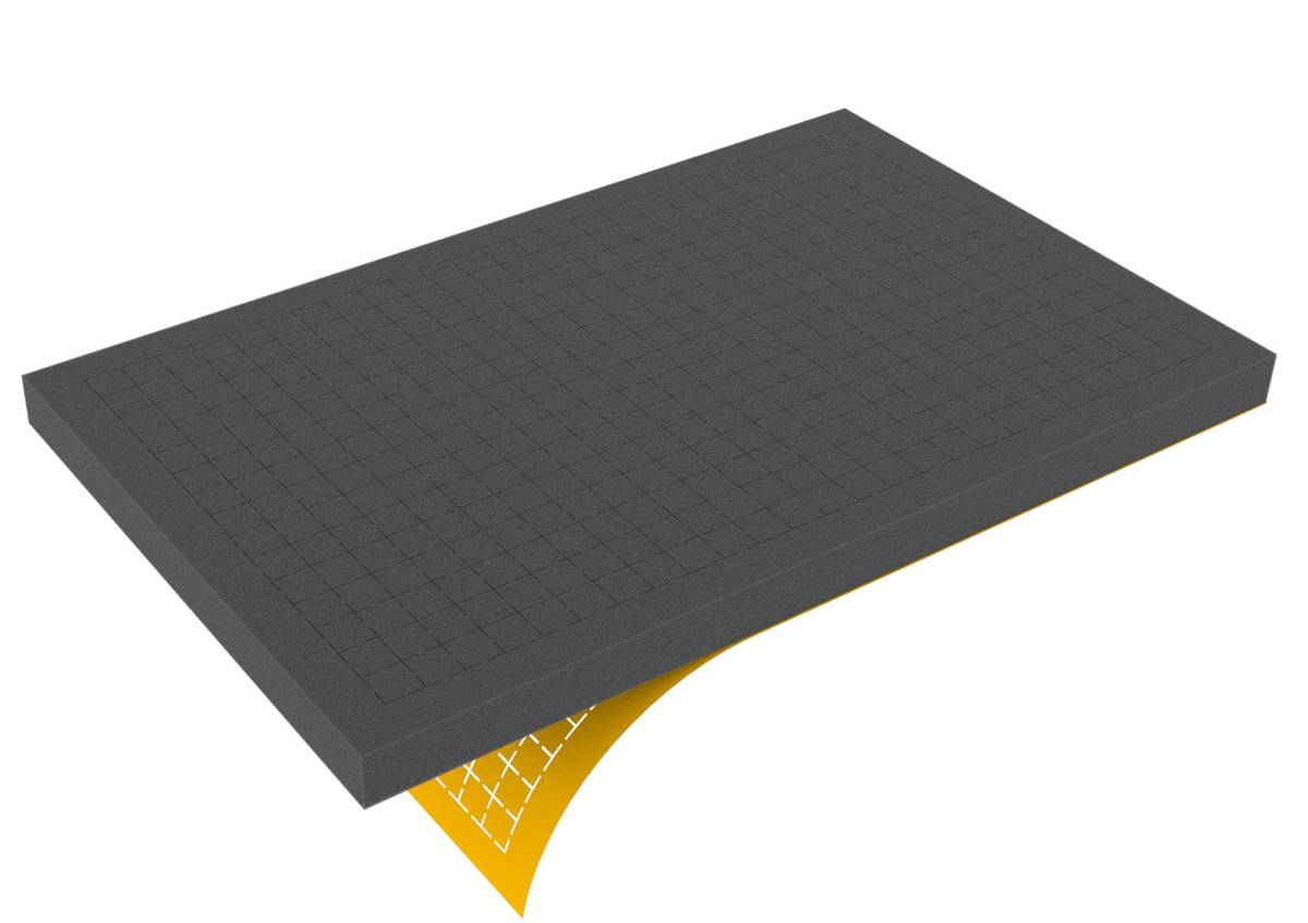 DS030RS 30 mm Figure Foam Tray double-size Raster self-adhesive