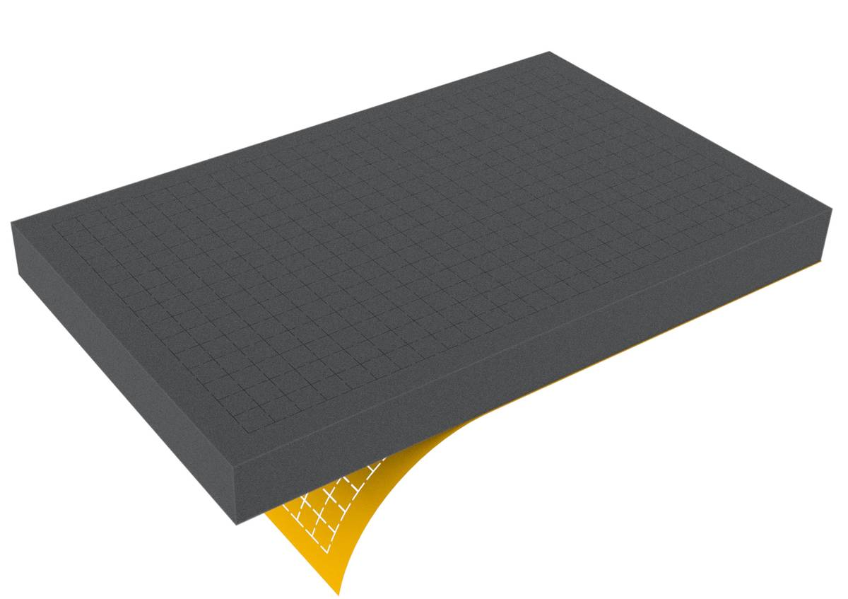 DS050RS 50 mm Figure Foam Tray double-size Raster self-adhesive