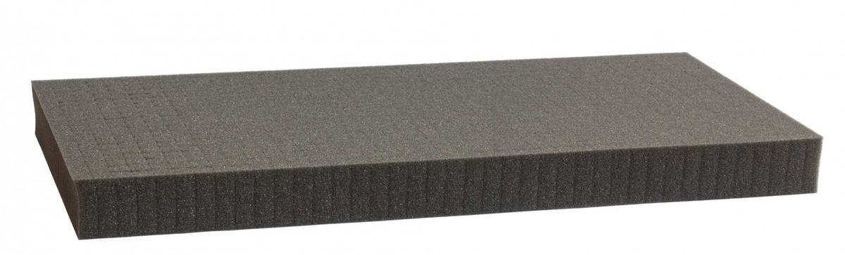 500 mm x 250 mm x 40 mm - Raster 12,5 mm - Pick and Pluck / Pre-Cubed foam tray