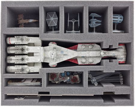 FSBF090BO (3.54 inches) foam tray for Star Wars X-WING Tantive IV (CR90)