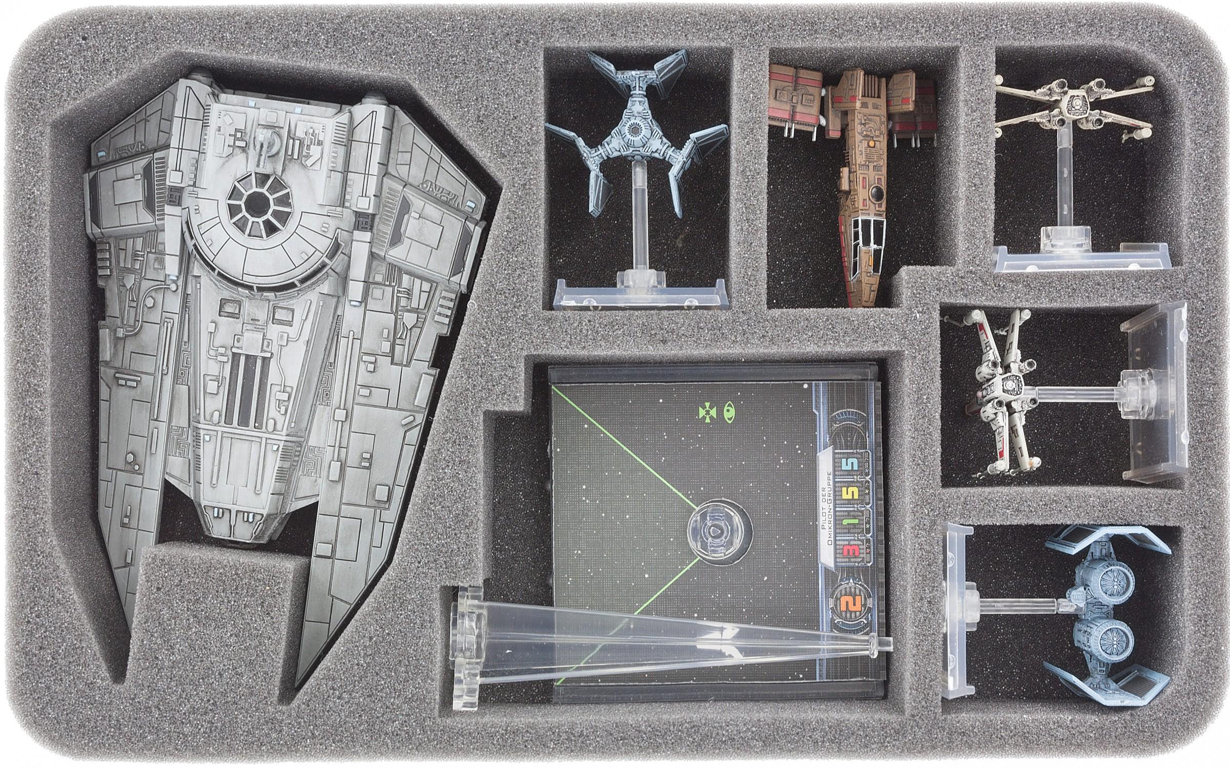 HSBK050BO foam tray for Star Wars X-WING VT-49 Decimator   Feldherr  Worldwide