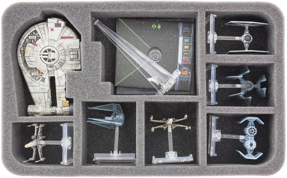 HSBL050BO foam tray for Star Wars X-WING YT-2400 Freighter