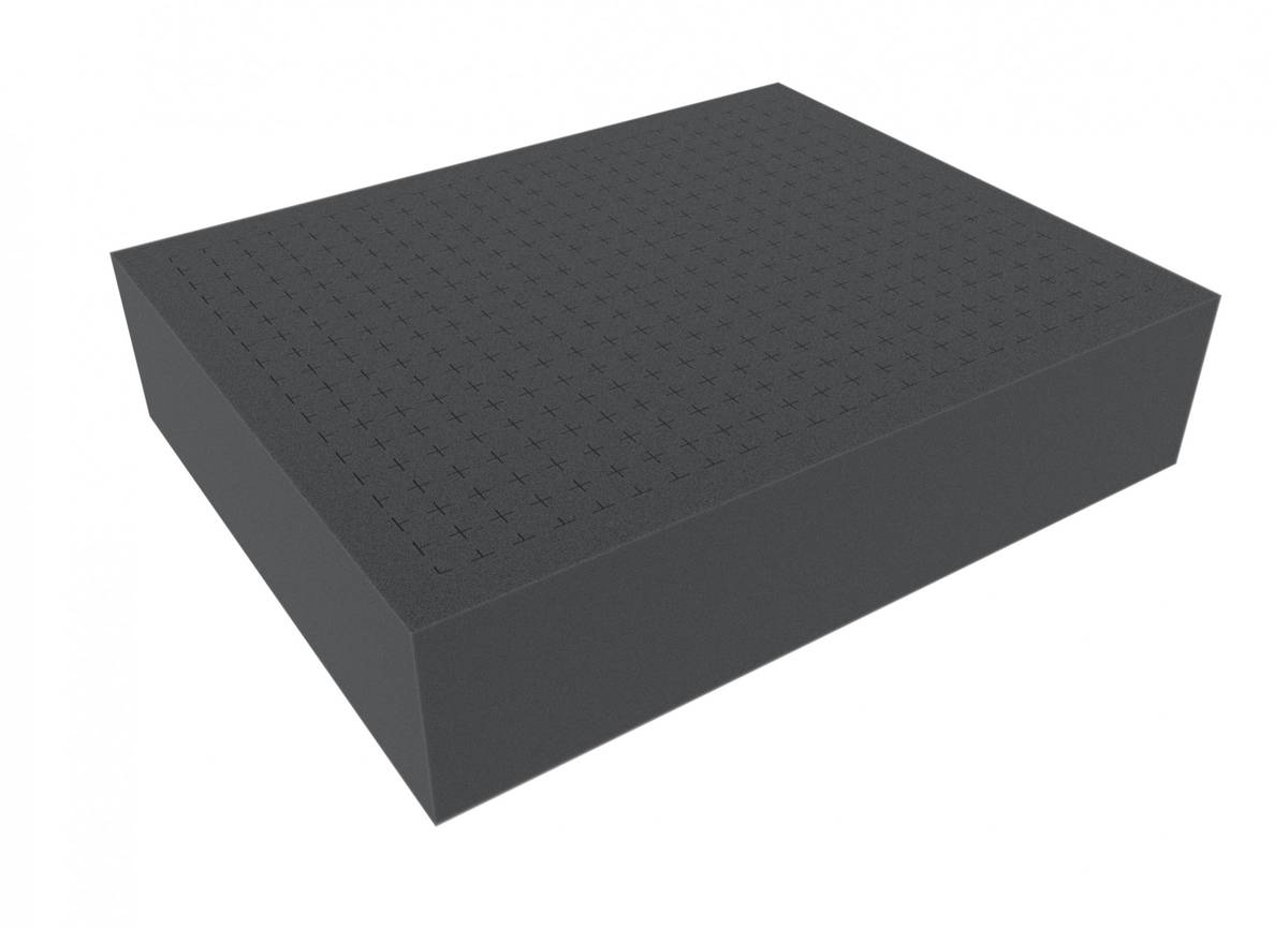 FS080R 80 mm Figure Foam Tray full-size Raster