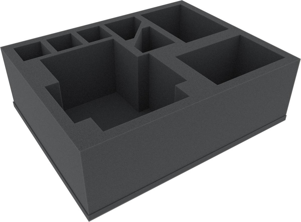 FSBJ110BO foam tray for Games Workshop Tanks, Bikes and larger miniatures