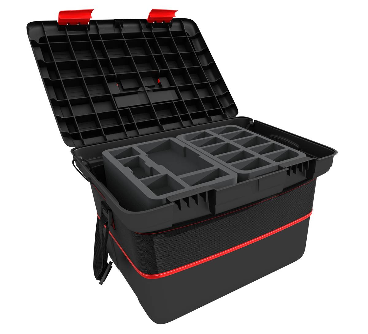 Feldherr X-Wing Hard Case with Shoulder Strap